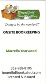 Bountifull Bookkeeping – Marcella Yearwood