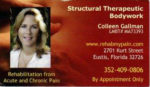 Structural Therapeutic Bodywork – Colleen Gallman